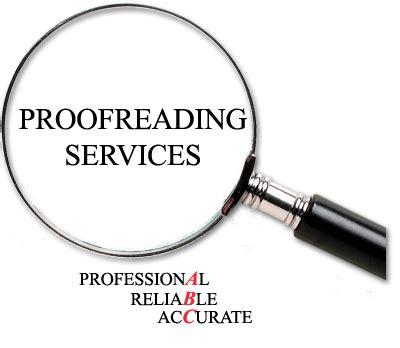Professional proofreading dissertation